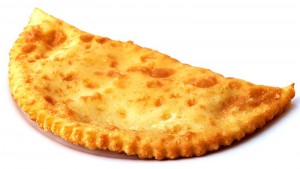 Chebureki or chiburekki a minced meat turnover